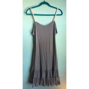 Matilda Jane Gray Dress Extender Women's
